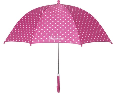 Playshoes umbrella for children, pink dots 2016 - large image