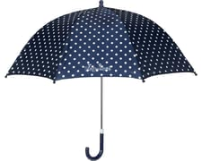 Playshoes umbrella for children, marine dots - If rainy days or tristes weather Playshoes umbrella points is marine your child always well protected from above.