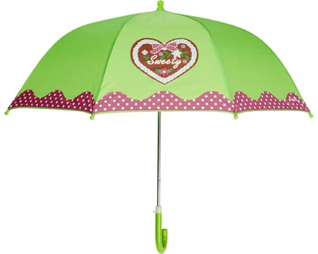 Playshoes umbrella for children, green cottage 2016 - large image