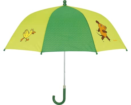 Playshoes umbrella for children, green elephant & duck 2016 - large image