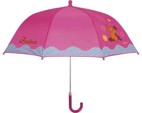 Playshoes umbrella for children, mouse and flowers 2016 - large image