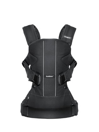 Baby Björn Baby carrier One - The baby carrier One by Baby Björn can be used in four different ways fixing it either the front or back of your body. Easy in handling.