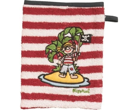 Playshoes wash glove, pirate island 2016 - large image
