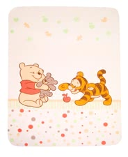 Zöllner cosy blanket - Cuddle and be comfortable with the soft Disney blanket by Zöllner Baby Pooh and Friends.
