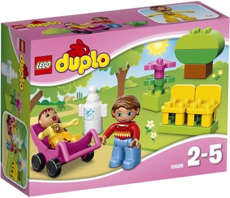 LEGO Duplo Mutter mit Baby 2016 - 大图像
