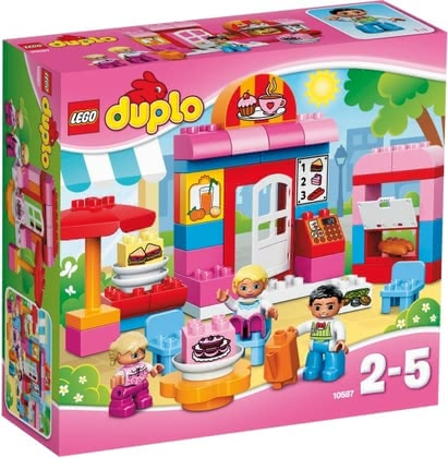 LEGO Duplo Café - Palying fun will be guaranteed with this set.