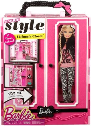 Barbie Modekoffer 2015 - large image