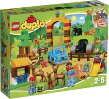 LEGO Duplo Wildpark - With the LEGO Duplo wild park there is plenty to discover. Life in the Wildlife Park is exciting but also many dangers.