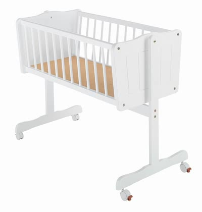Zöllner cradle Crema including mattress and canopy post 2016 - Image de grande taille