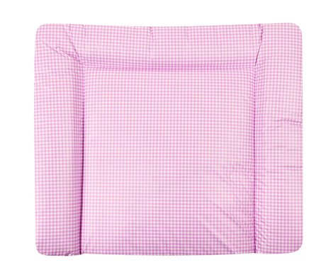 Zöllner changing pad Softy Vichy Karo rose 2016 - large image