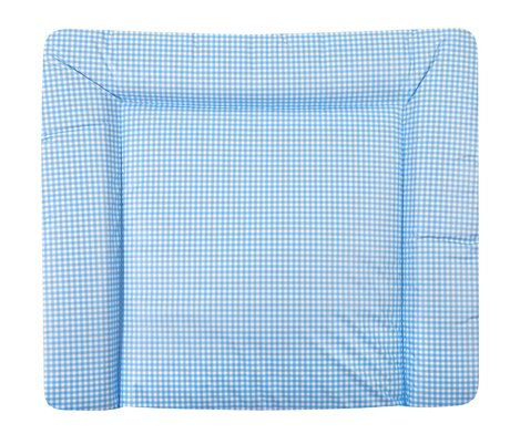 Zöllner changing pad Softy Vichy Karo blue 2016 - large image