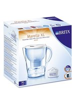 BRITA Wasserfilter Marella XL - With the BRITA Marella XL water filter, you get full flavor with tea and coffee. It reduces the calcium in drinking water.