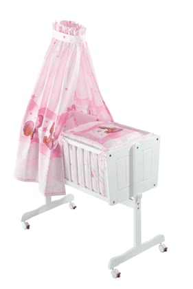 Zöllner cradle set Kuschelbär rose 2016 - large image