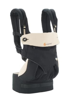 Ergobaby baby carrier 360° Carrier Black Camel - Babies love the close contact to its familiar people. Close to the body from MOM and dad feel your favorite and can blissfully sleep and grow in peace.