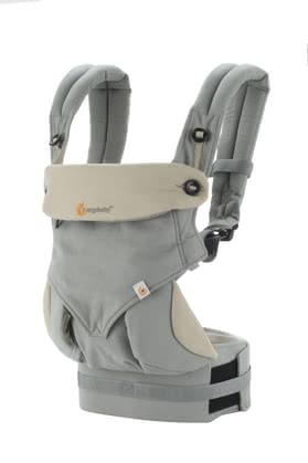 Ergobaby baby carrier 360° Carrier Grey/Taupe - Babies love the close contact to its familiar people. Close to the body from MOM and dad feel your favorite and can blissfully sleep and grow in peace.