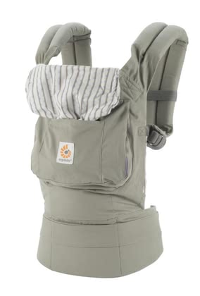 Ergobaby original baby carrier Dewdrop - Stay active with your sweet young. No problem - the ERGObaby baby carrier original perfectly distributing the weight of your baby on the hip and shoulders.