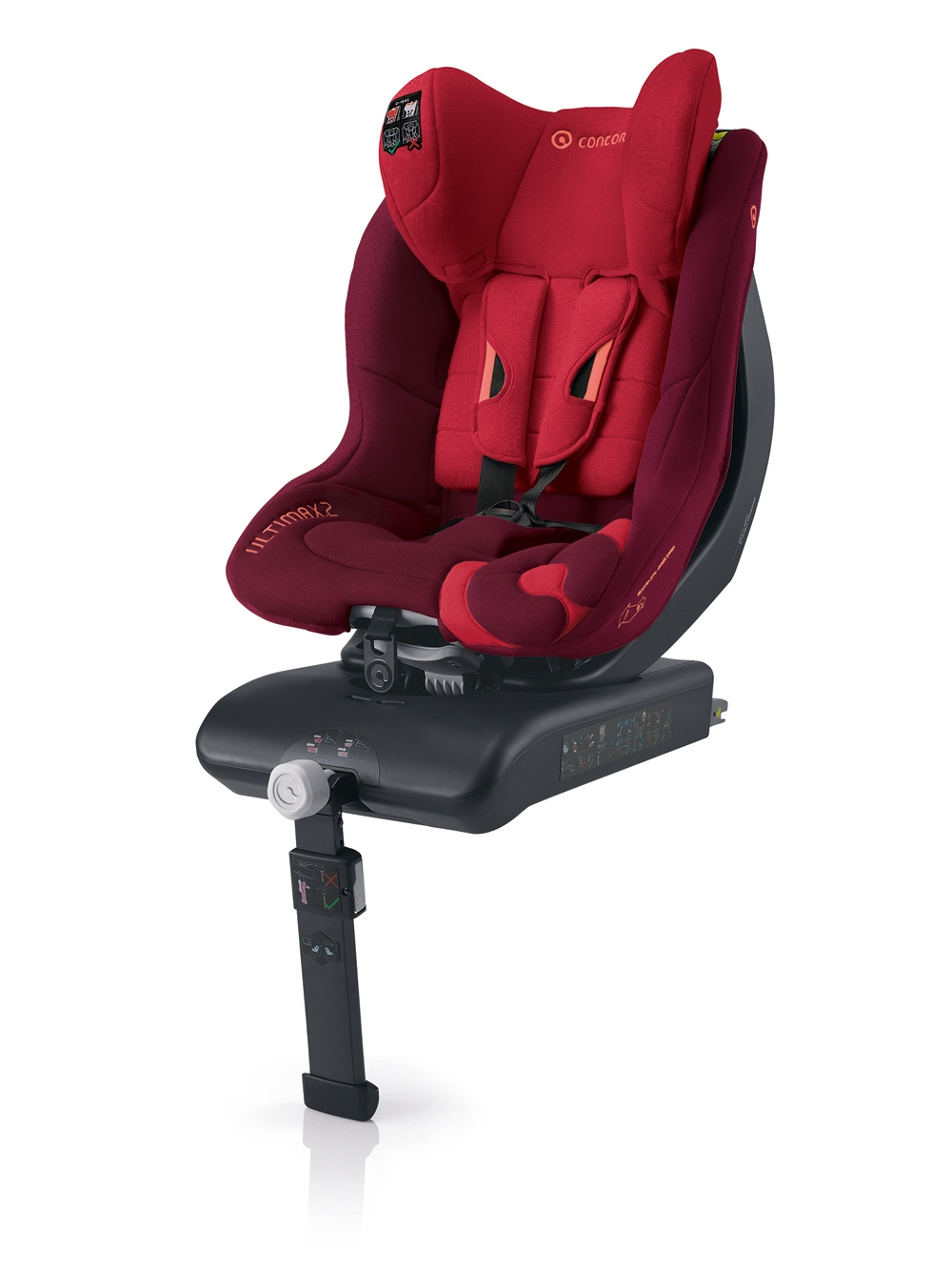 Si ge enfant ultimax 2 isofix par concord 2014 lava red for Siege enfant