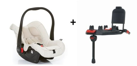 ABC-Design Babyschale Risus inkl. Isofix Base sheep 2016 - Imagen grande