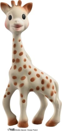 Sophie la girafe - Sophie la girafe awakens all senses of your little one - made of 100% natural rubber.