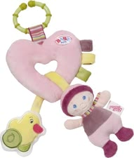 Baby Born activity heart -  Different elements awakens the attention of the Baby Born activity heart.