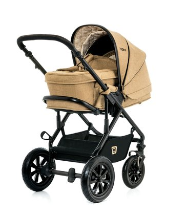 Moon Multi-Functional Pram Lusso including Carrycot sahara - melange 2017 - large image