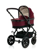 Moon Kombikinderwagen Nuova mit Alu-Wanne - The Moon Nuova with aluminium tub is a real Lightweight under the prams. It impresses with its elegant design, comfort and maneuverability.
