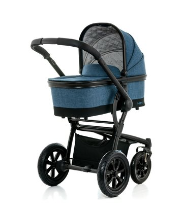 Moon Kombikinderwagen Tregg mit Alu-Wanne - The new high-tech design makes the Moon Tregg one Prams of the upper class.