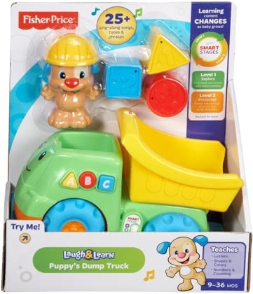 Fisher Price puppy dumper truck 2016 - 大圖像