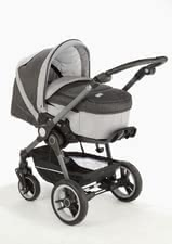 Teutonia BeYou! inkl. Vario-Plus-Tragetasche – exclusives Design - The Teutonia Combi stroller BeYou! excels in ease of use, smart design and maximum comfort.