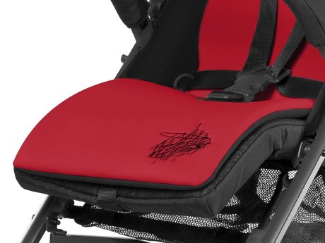 Cybex Sitzauflage Hot & Spicy - red 2016 - large image