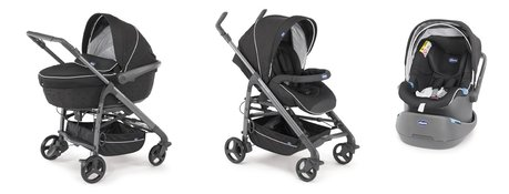 Chicco Trio-System Love mit Kit Car Black 2016 - Imagen grande