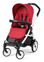 Peg-Perego Book 51 Sportivo – Weiß - The 51 peg-Pérego book convinces with its narrow track width and scores in terms of comfort and easy handling.