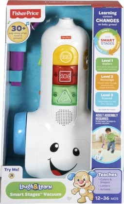 Fisher Price learn vacuum cleaner 2016 - large image