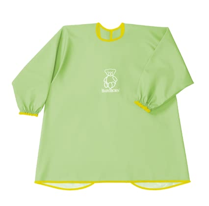Baby Björn apron for eating and playing Grün 2016 - Image de grande taille
