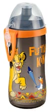 Botella Junior Cup Disney Lion King NUK - La botella Junior Cup diseño Disney Lion King es ideal para deporte, juego y diversión.