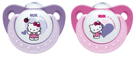 NUK Hello Kitty aspirator with ring - Little Hello Kitty fans will love the aspirator with ring by NUK.
