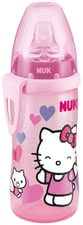 NUK Hello Kitty Active Cup - The NUK Hello Kitty Pooh Active Cup with its leak-proof soft drink sleeve made of silicone is extremely robust and resistant.