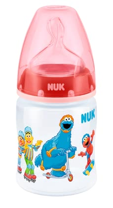 NUK Sesame Street FIRST CHOICE + baby bottle 2016 - large image