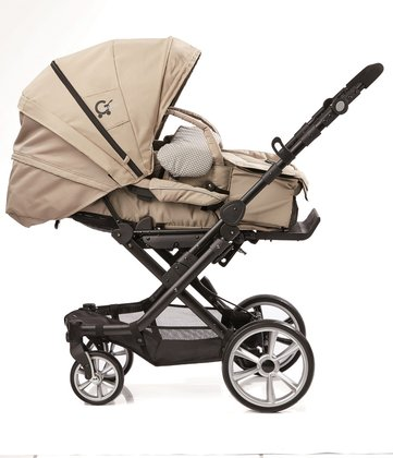 Gesslein stroller from the special edition Trend including C1- lift carrycot Beige 2016 - Image de grande taille