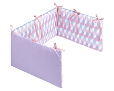 Zöllner my Julius Vario bumber cot - The Vario bumper cot will be a breath of fresh air for your child's room and make it a feel-good oasis.