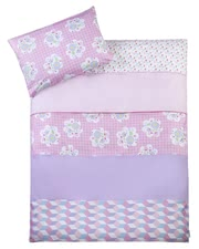 "Zöllner my Julius two-piece bed linen - Your little one will dream wonderfully in her bed linen Spring of the ""my Julius"" collection."