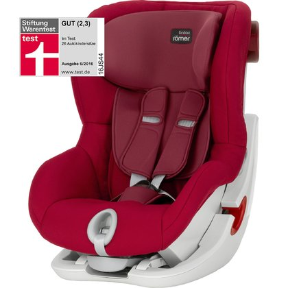 Britax Römer Kindersitz King II Flame Red 2017 - Großbild