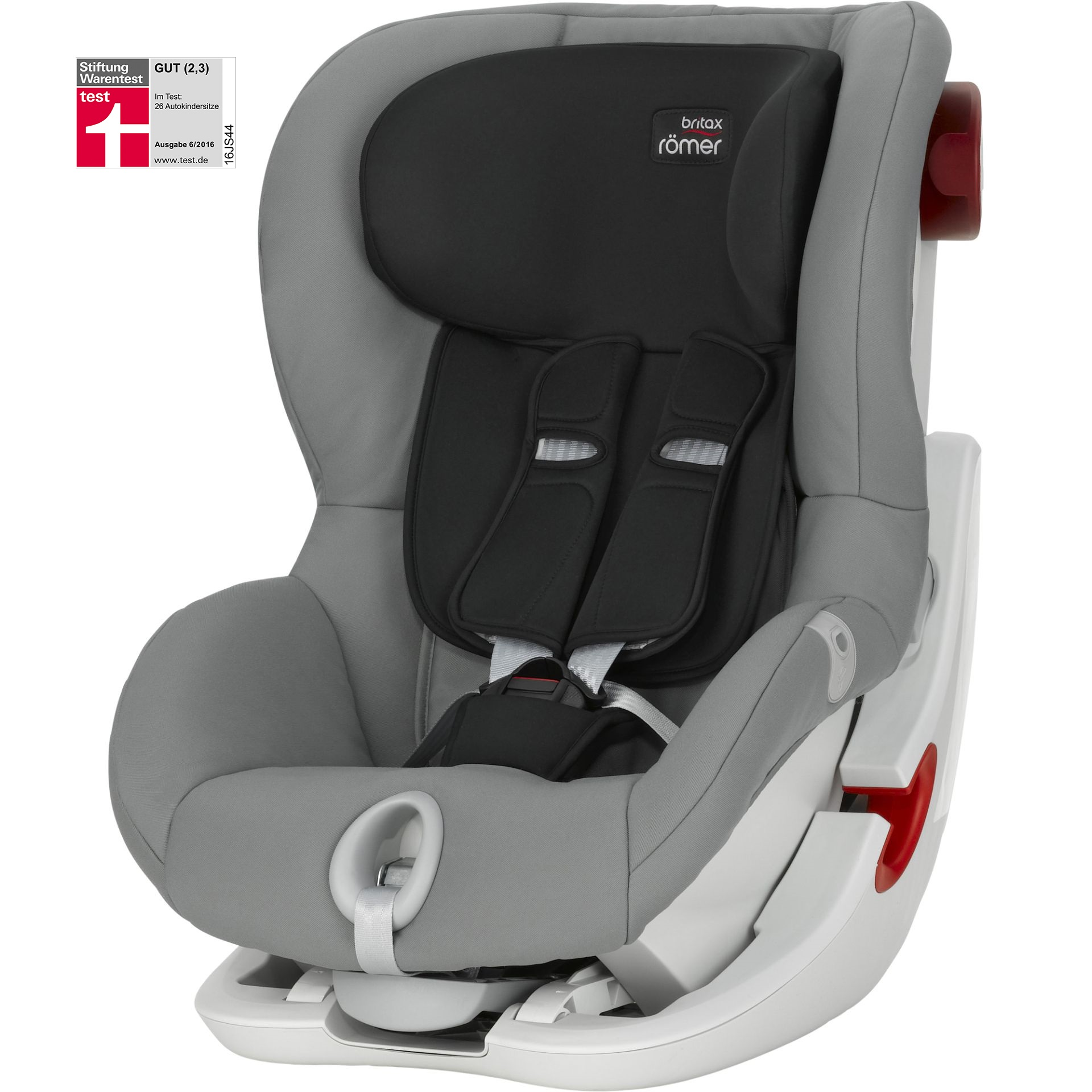 britax r mer kindersitz king ii 2016 steel grey online kaufen bei kidsroom kindersitze. Black Bedroom Furniture Sets. Home Design Ideas