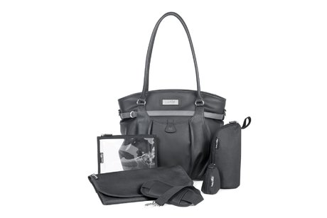 Babymoov diaper bag Glitter Bag - The stylish Babymoov diaper bag Glitter Bag can be used as elegant handbag.