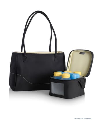 Medela CityStyle cool bag - The Meleda CityStyle cool bag is the optimal companion for a breast-feeding mom and has a modern and elegant design.