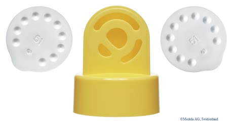 Medela valves and membranes - The Medela starter set consists of two replacement valves and six membranes for a quick exchange.