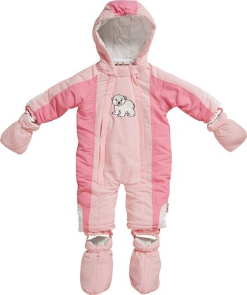 Playshoes snow overall polar bear rosé 2016 - large image