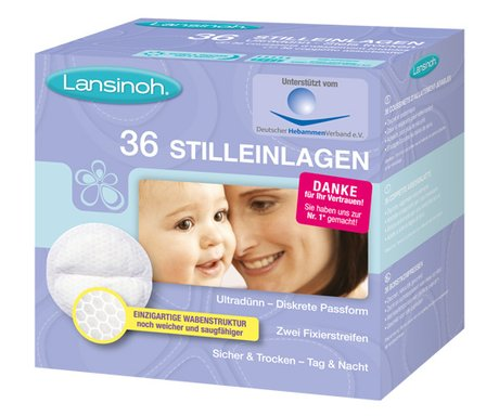 Lansinoh® Nursing pads -  Lansinoh nursing pads – The nursing pads are ultrathin and perfect in terms of absorptivity.