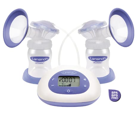 Lansinoh 2in1 electrical breast pump -
