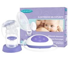 Lansinoh® Elektrische Milchpumpe - The electric breast pump Lansinoh ® is only a few steps ready to use and very easy to use and allows for a gentle and effective pumping of breast milk wi...